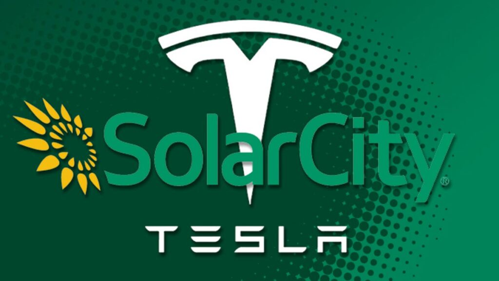 The acquisition of SolarCity