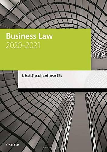 Business Law 2020-2021 Paperback