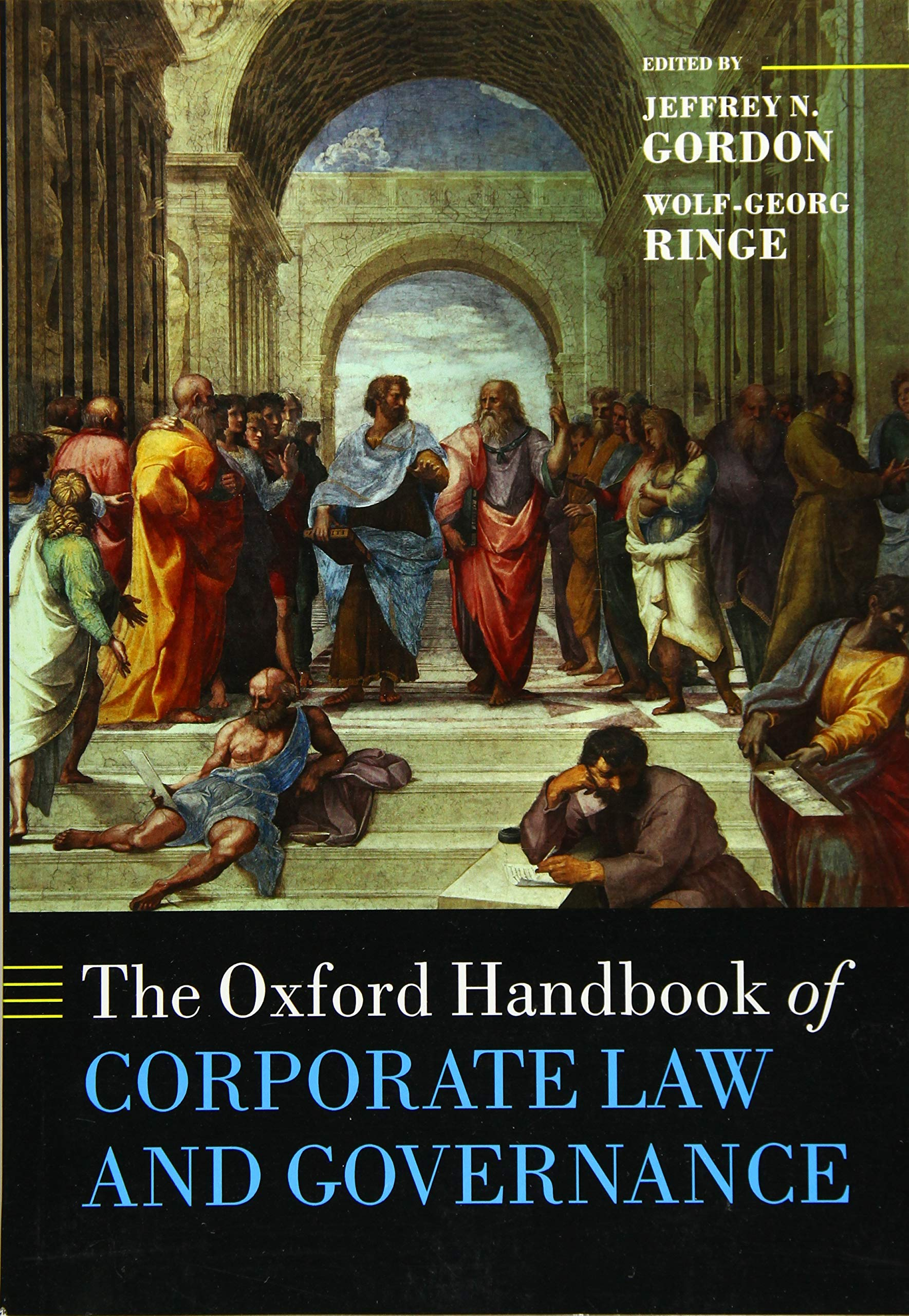 The Oxford Handbook of Corporate Law and Governance