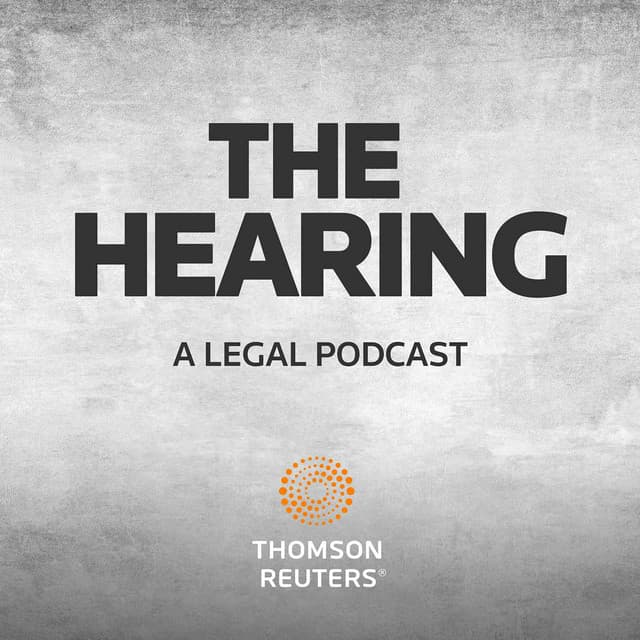 The hearing Thomson Reuters