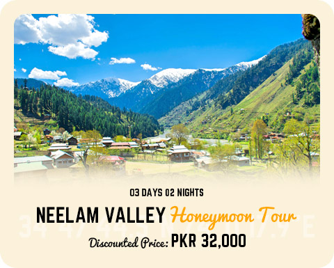 NEELUM VALLEY 3DAYS 2NIGHTS TOUR