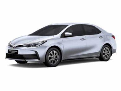 Toyota Corolla Gli 2017-19