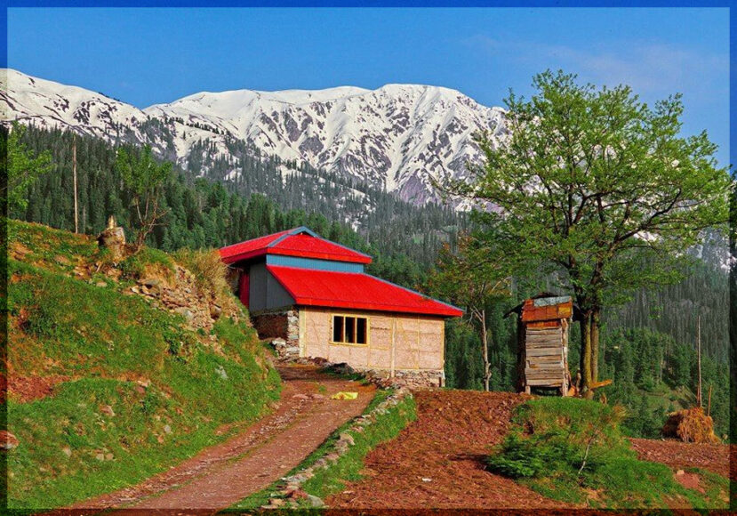 A hut in Ghanool Valley