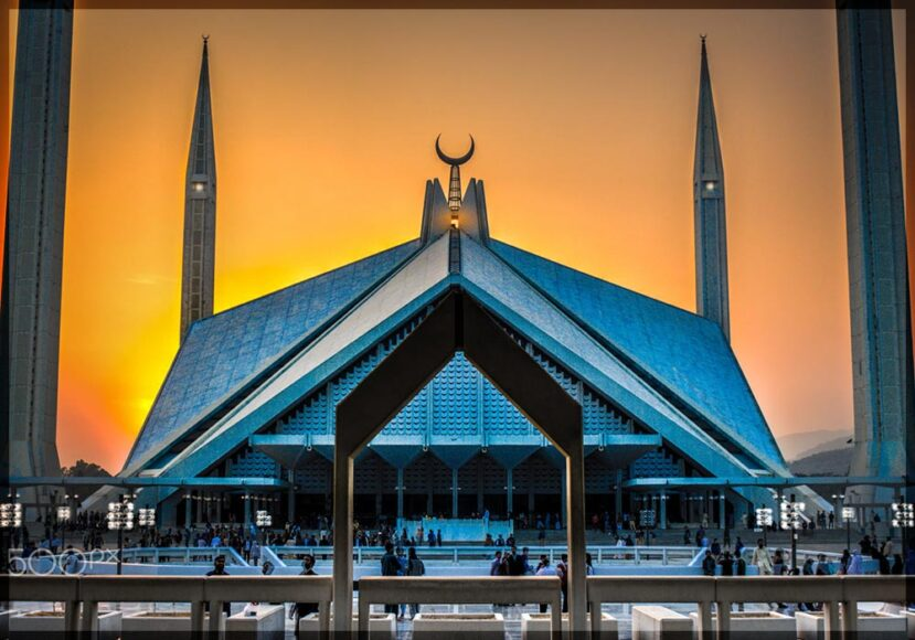 The Faisal Mosque ranks among the top 20 most beautiful Buildings in the world