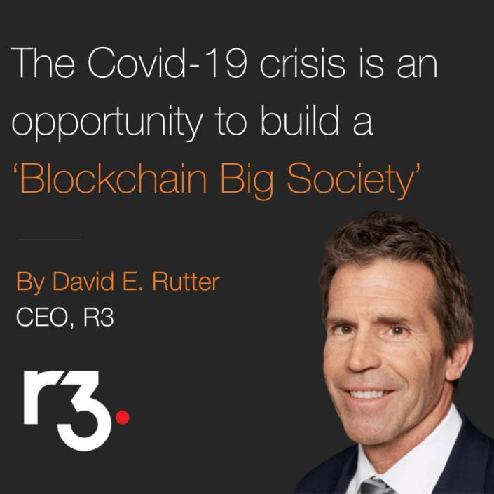 David E. Rutter - R3, CEO