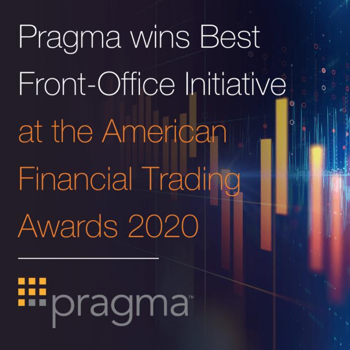 Pragma wins Best front-office initiative