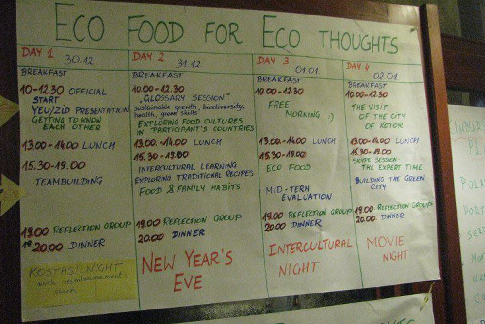 Eco Food for/of Eco Thoughts