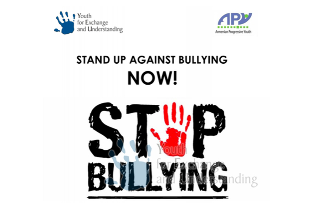 Stand up against bullying, NOW!
