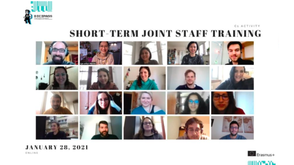 Our Short-Term Staff Training 26-28th January 2021 – CGE Erfut