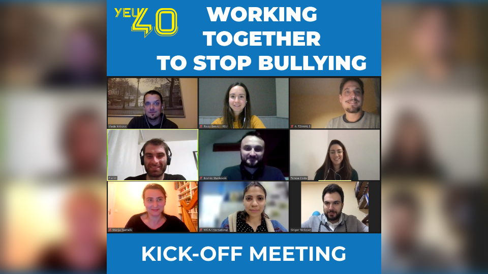 Working Together to Stop Bullying kick-off meeting