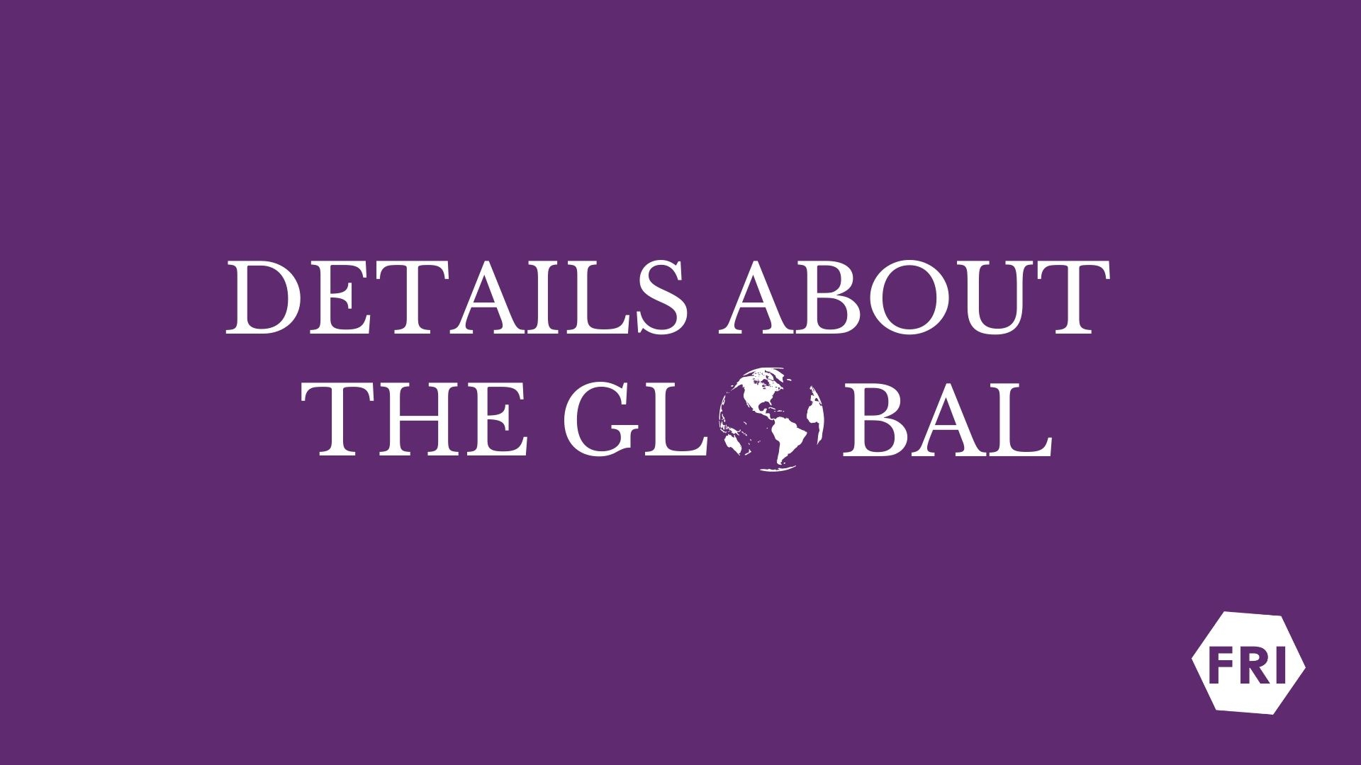 """""""Details about the global"""": youth learns about international organisations"""