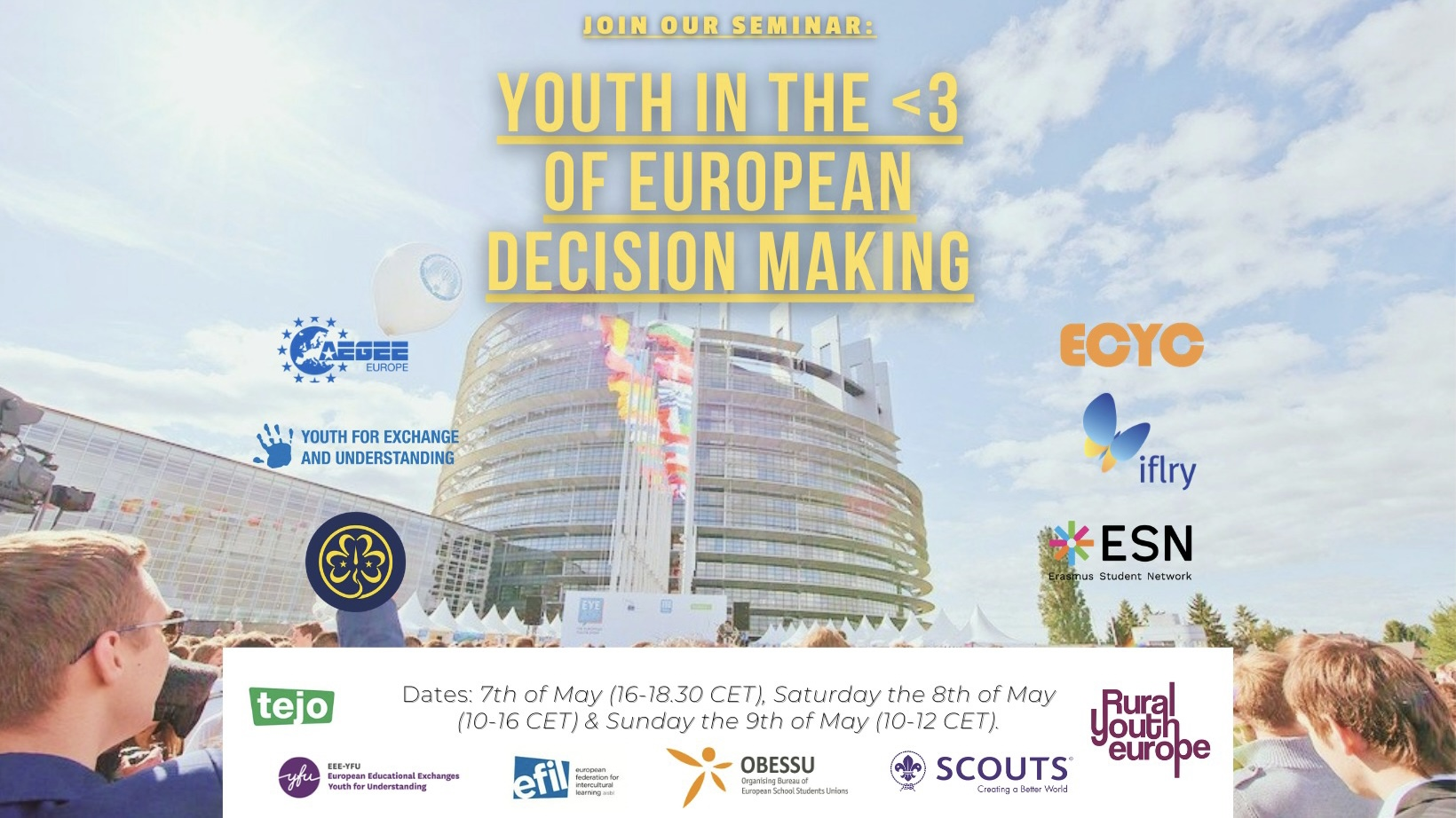 Youth in the heart of European decision making