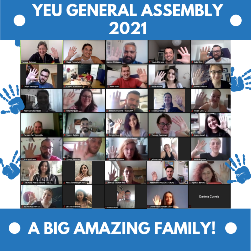 YEU General Assembly – Summer Edition