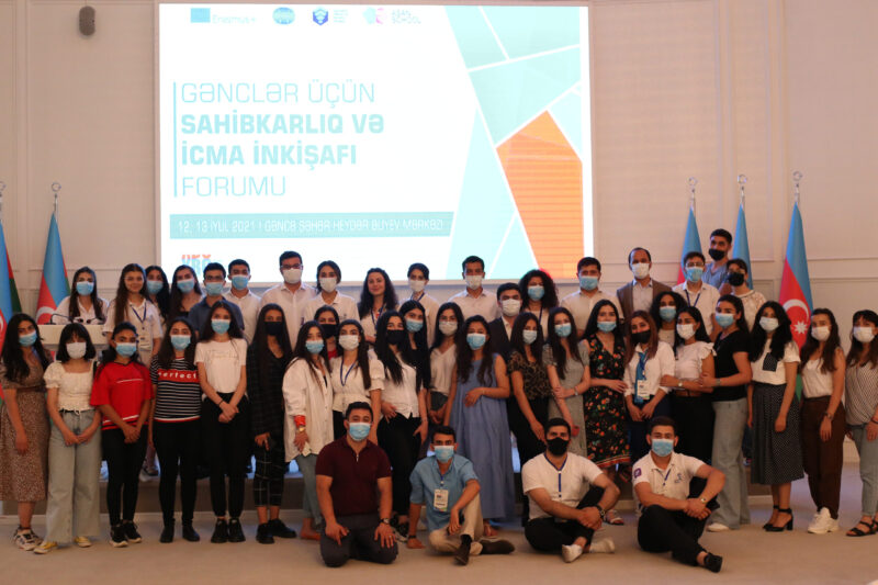 The Youth Forum on Entrepreneurship and Community Development was held in Ganja