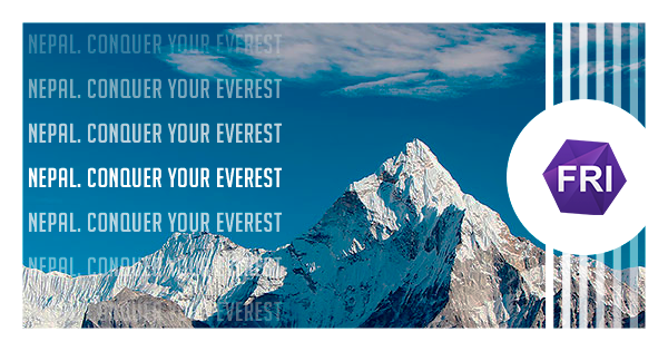 FRI: NEPAL. CONQUER YOUR EVEREST