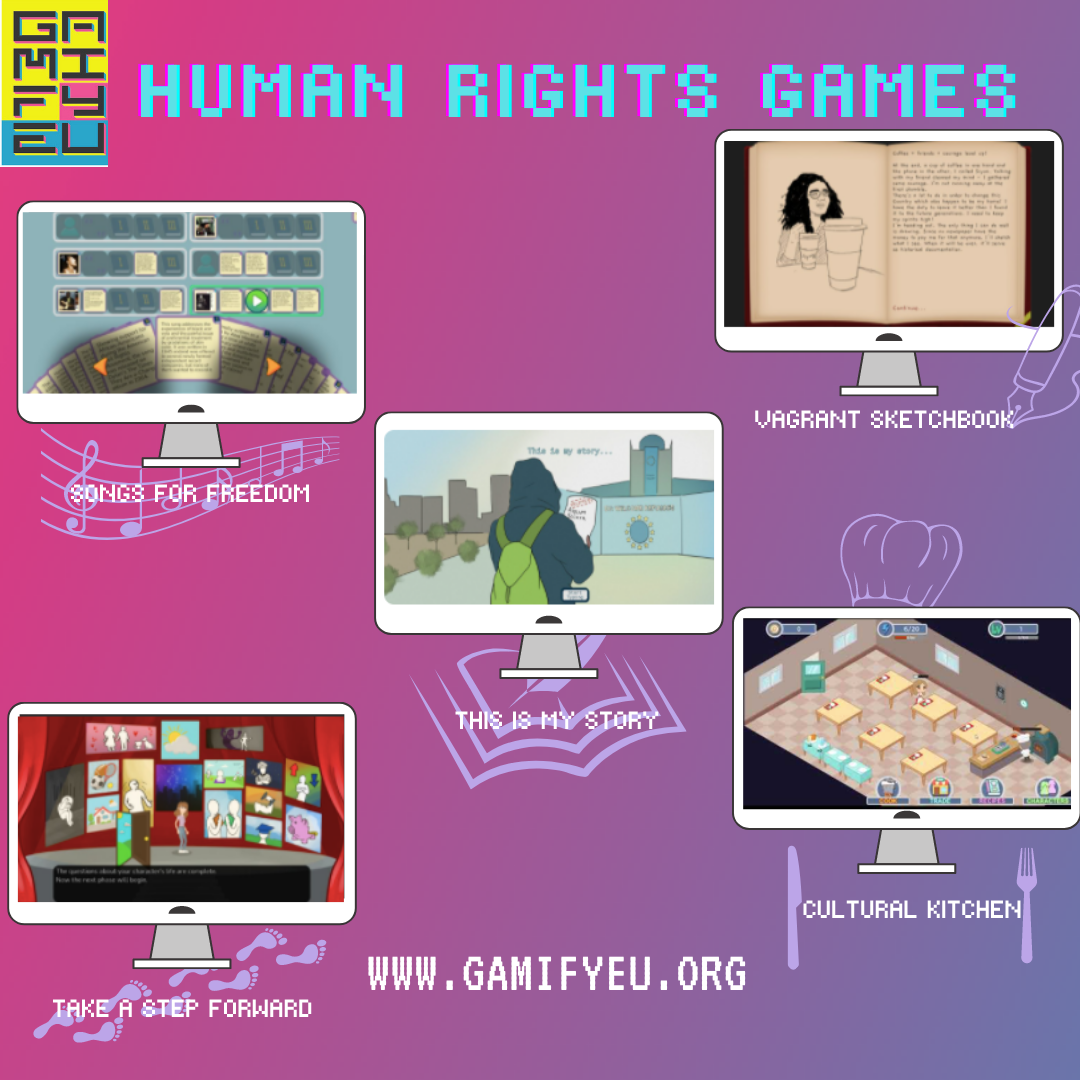 The Stories behind the stories: Check out our new GamifyEU Games