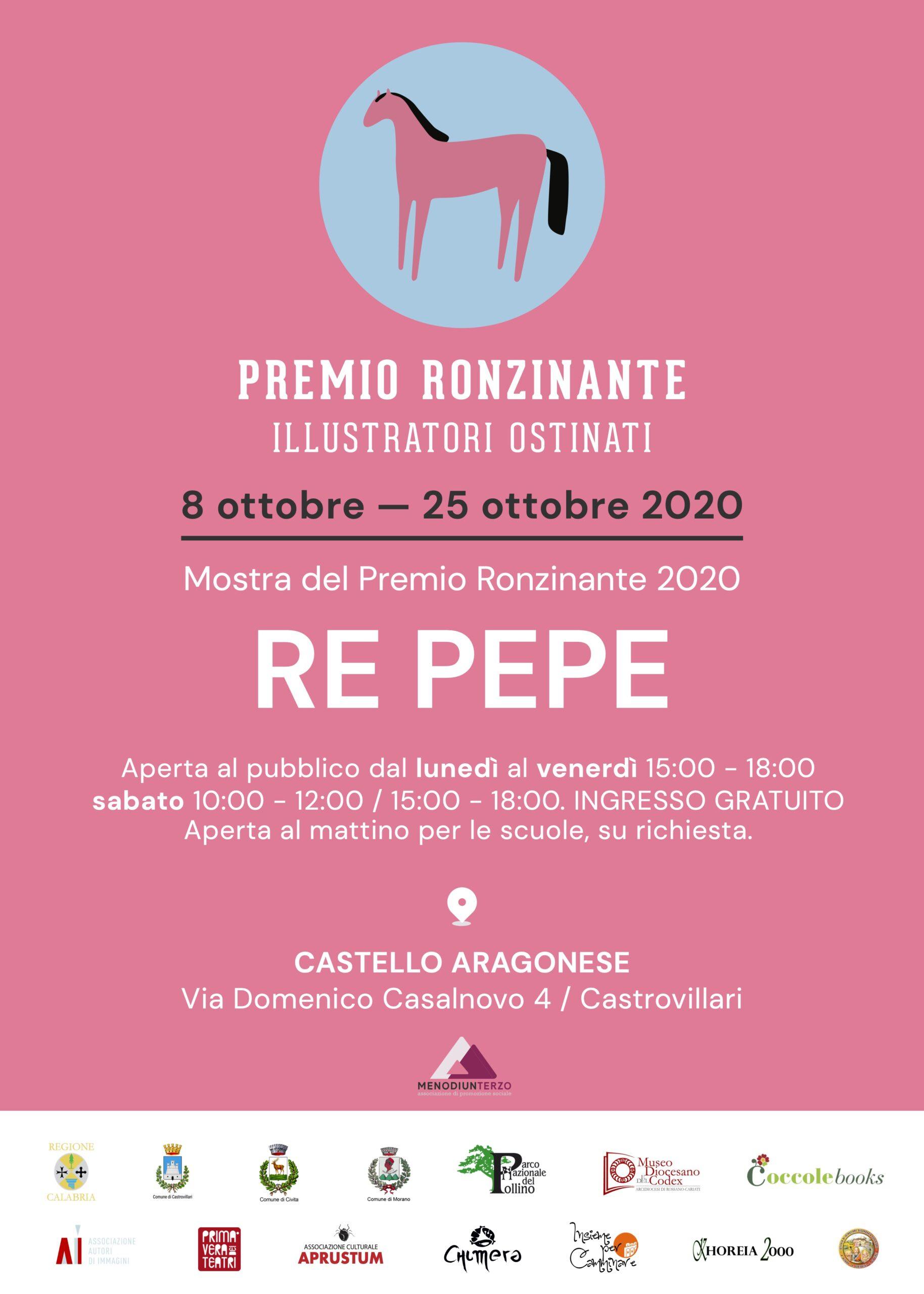 MOSTRA DEL PREMIO RONZINANTE 2020. RE PEPE.
