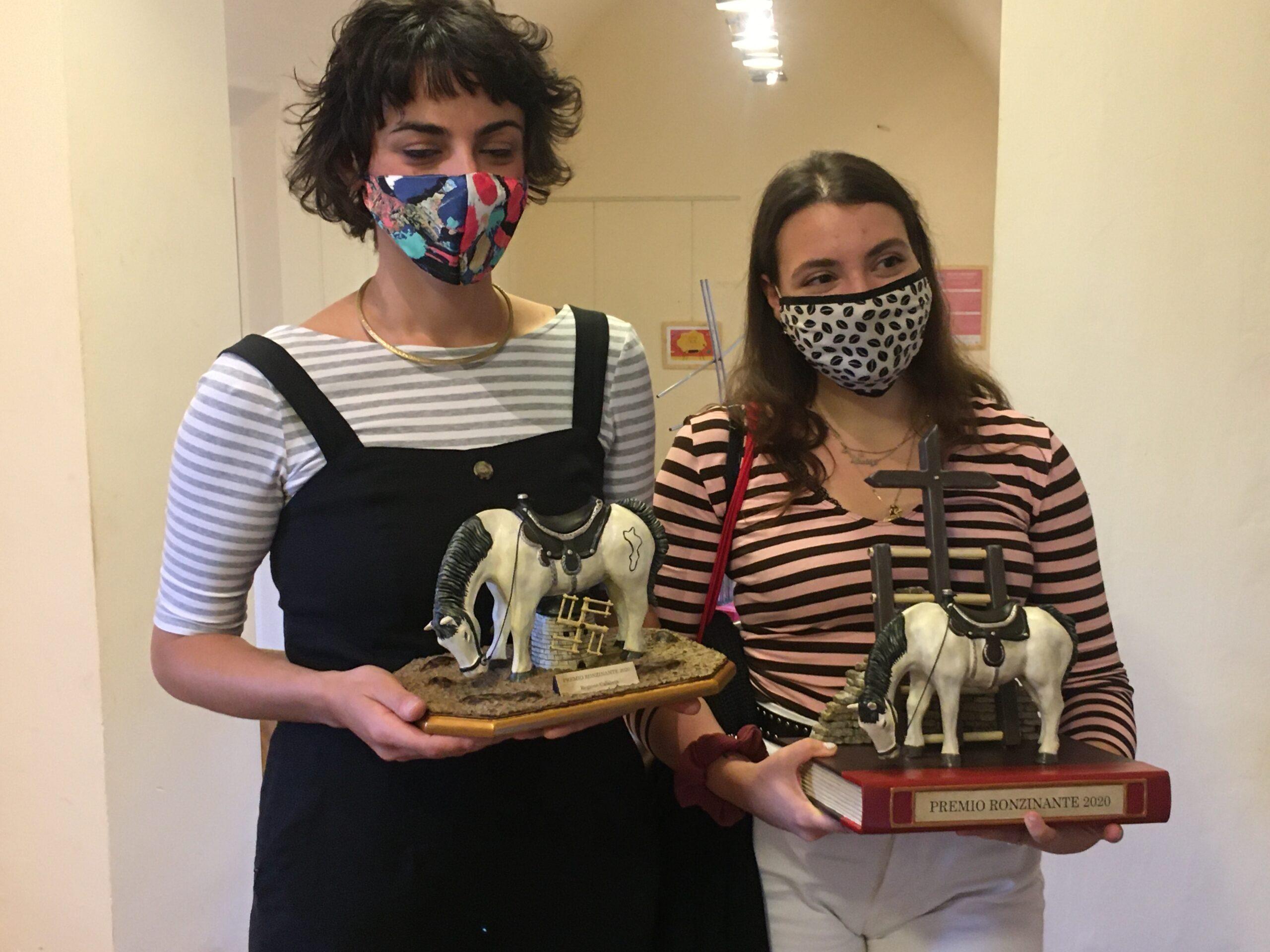 Vincitori del Premio Ronzinante 2020.
