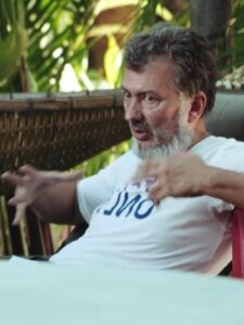 Neil Willmann, lead instructor for Daruma's permaculture courses in Thailand.
