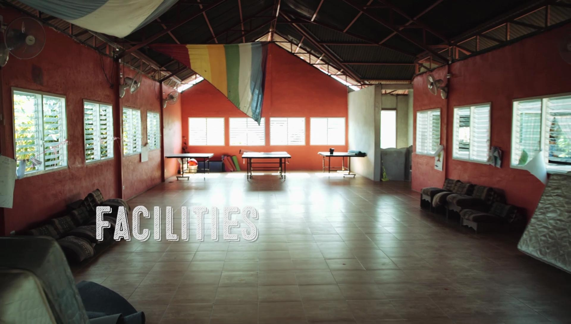 One of the many classrooms that students have taken a permaculture course in Thailand
