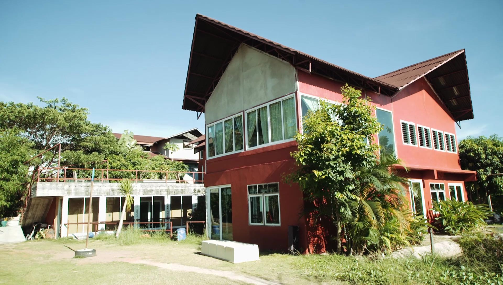 Part of the main school building, Mosaic Alternative Learning Centre