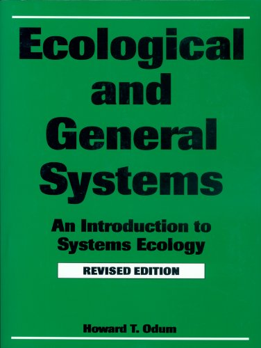 Ecological and General Systems An Introduction to Systems Ecology