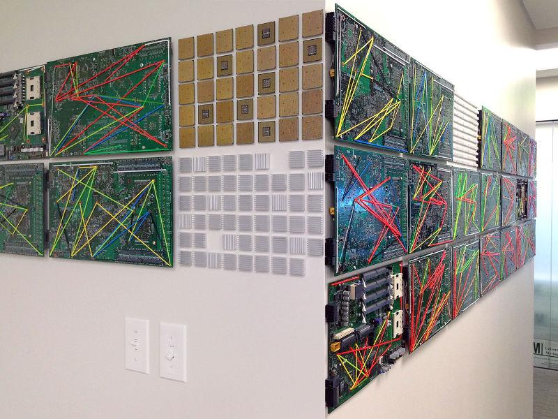 """Data Hall"" by Patricia Van Dalen"