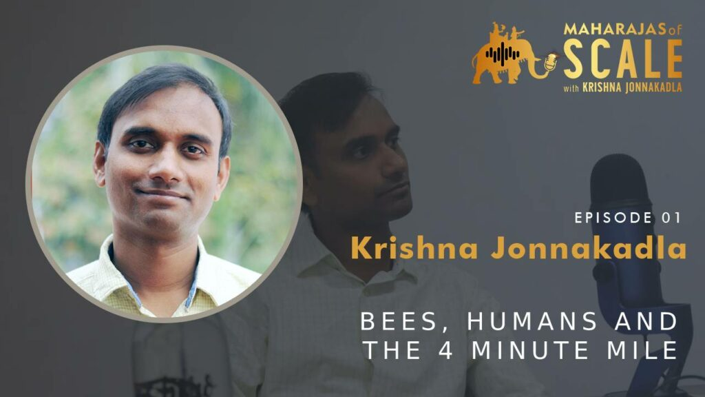 Cover Image for Episode 1: Krishna Jonnakadla of Mango Mobile TV, Flit and Maharajas of Scale on building and scaling startups in India