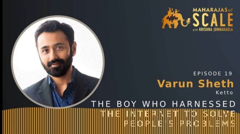 Cover Image for Episode 19: Varun of Ketto on harnessing's Internet to solve people's problems