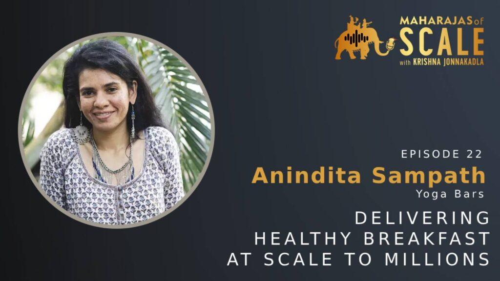 Anindita of Yoga Bars speaks to Maharajas of Scale