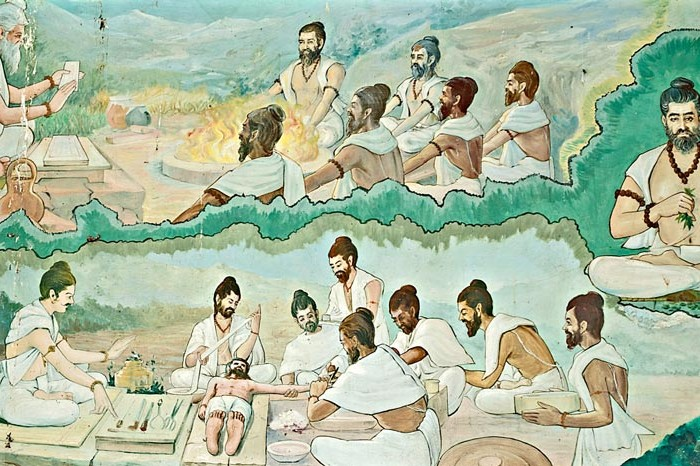 Image_Showing_Ancient_Indians_Treating_Patients