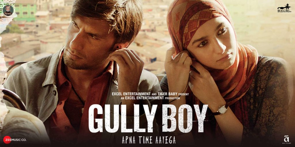 Image of the movie Gully Boy Murad played by Ranveer Singh. From Slums to millions..another heart warming tale