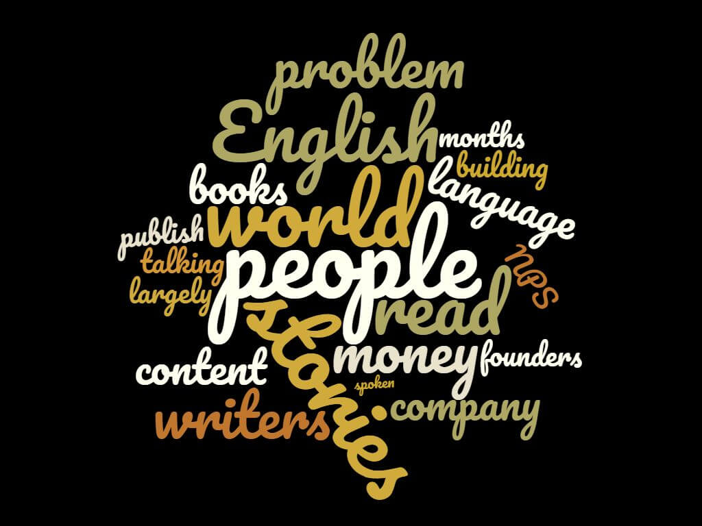 Word Cloud for Episode 10: Ranjeet of Pratilipi: Story Telling at Scale
