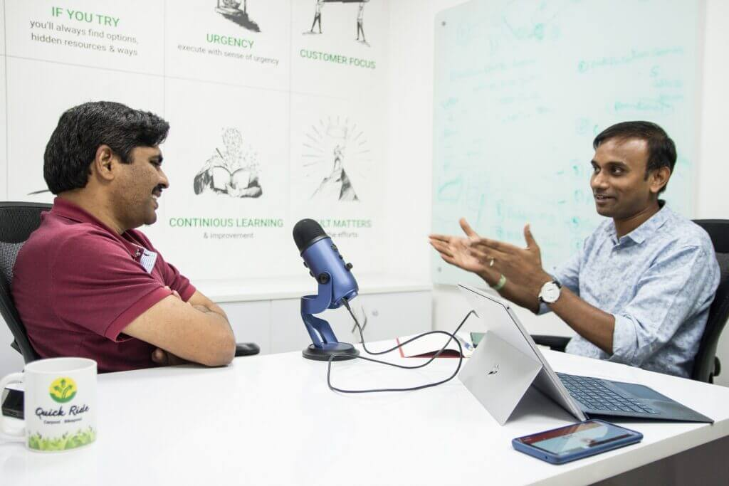 In Conversation with KNM Rao of Quick Ride: Farming to Tech Entrepreneurship