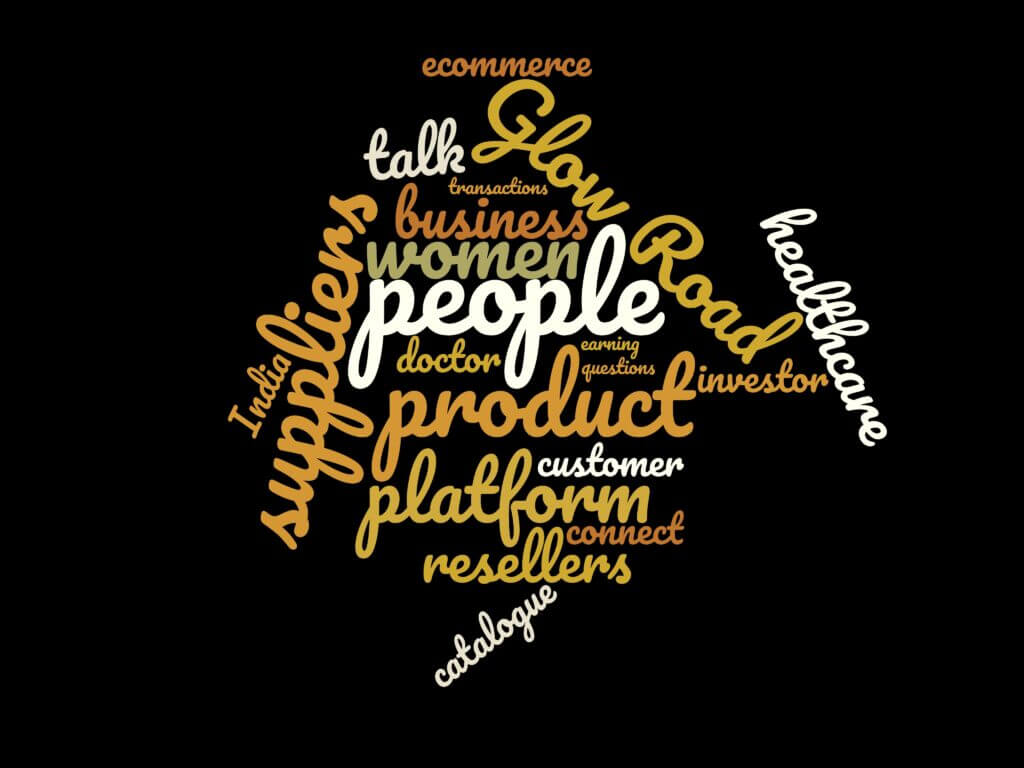 Word Cloud for Episode 20: Sonal Verma from Glow Road on Scaling Twice