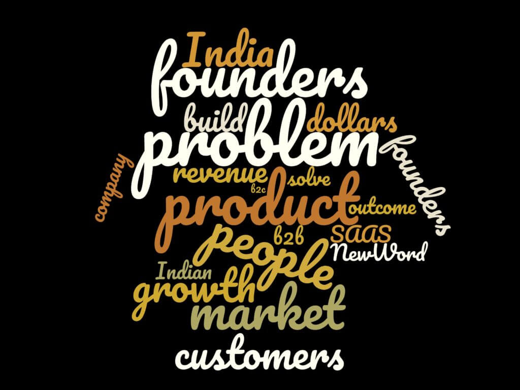 Word Cloud for Episode 21 SaaS: Startup Success as a Service