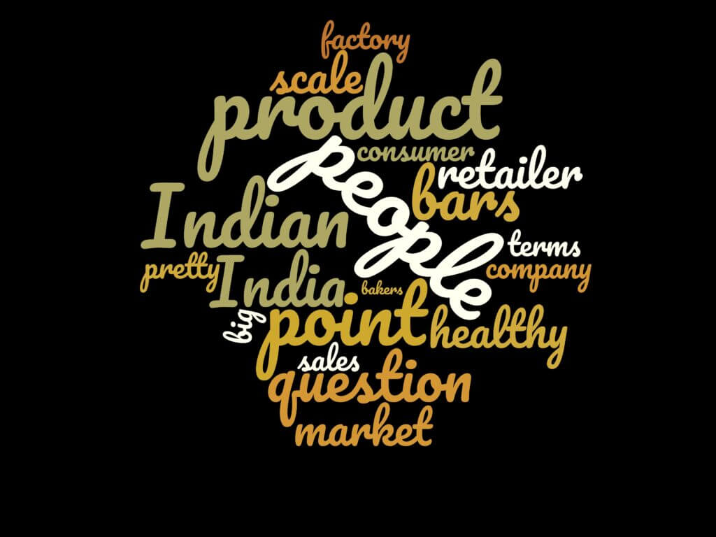 Word Cloud for The Episode 22: Anindita of YogaBars Delivering Healthy Breakfast To Millions