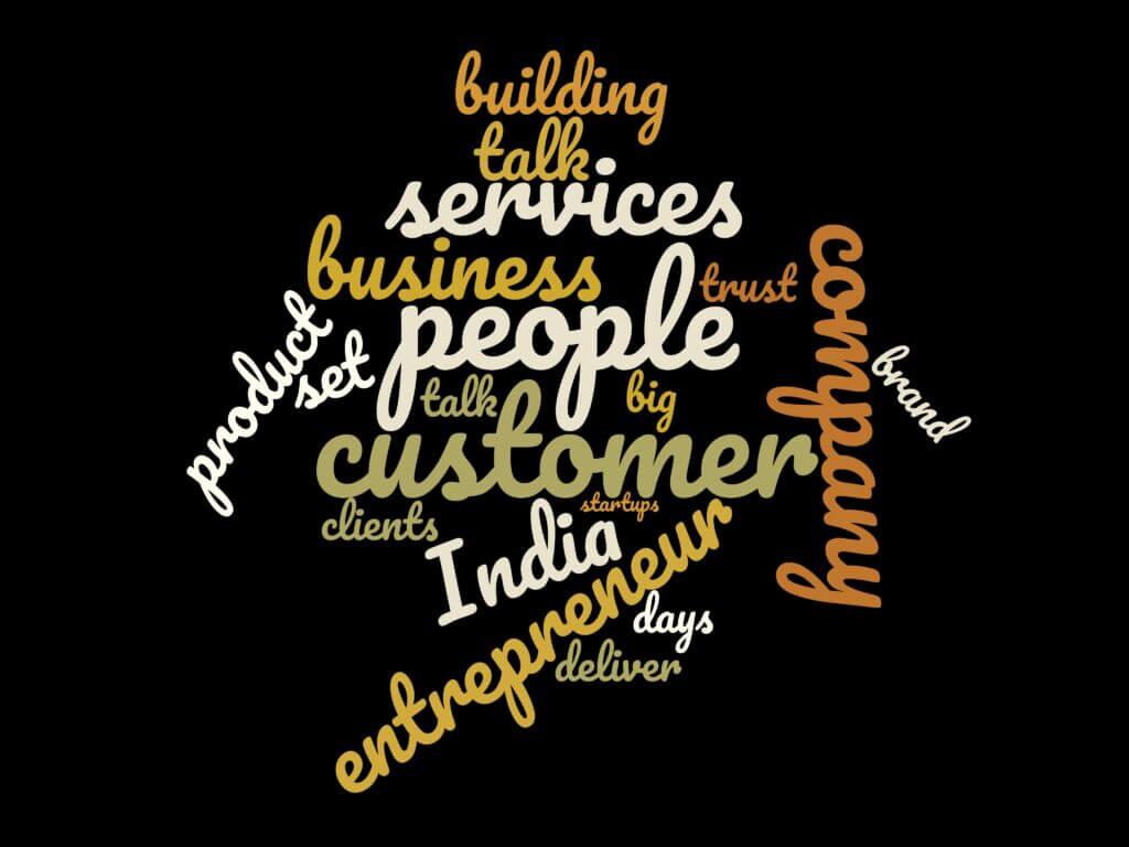 Word Cloud for Episode 24: Shrijay An Entrepreneur who helps entrepreneurs