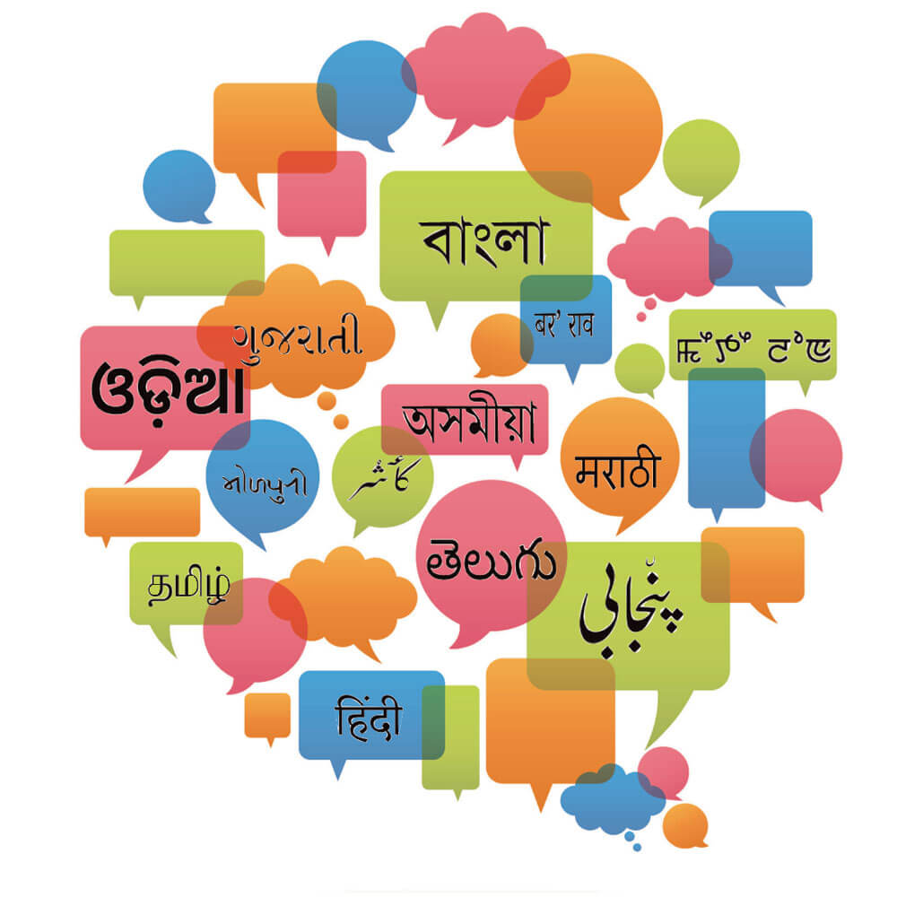 India Home To Many Languages