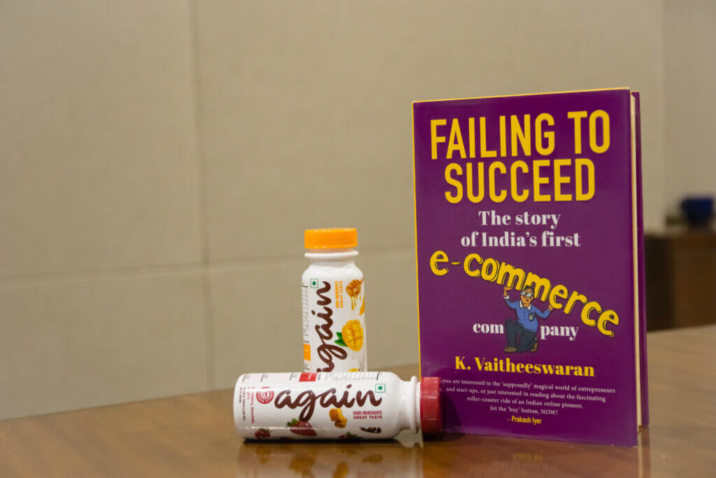 Vaitheeswaran of India Plaza's Book and Drink