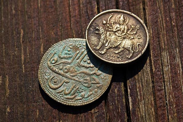 Image showing goddess on Money