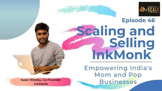 Title image for episode 44 -The Art Of Scaling With Creativity