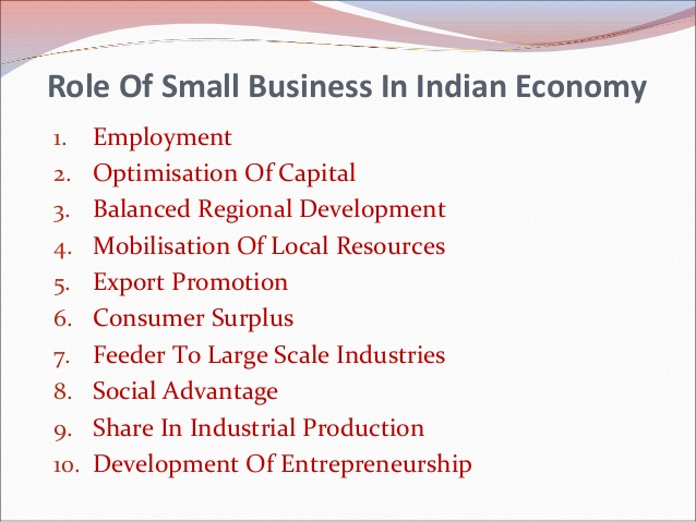 How Small Businesses Play A Key Role In The Growth Of The Indian Economy
