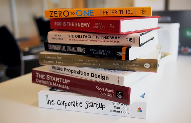 Image showing books read by entrepreneurs