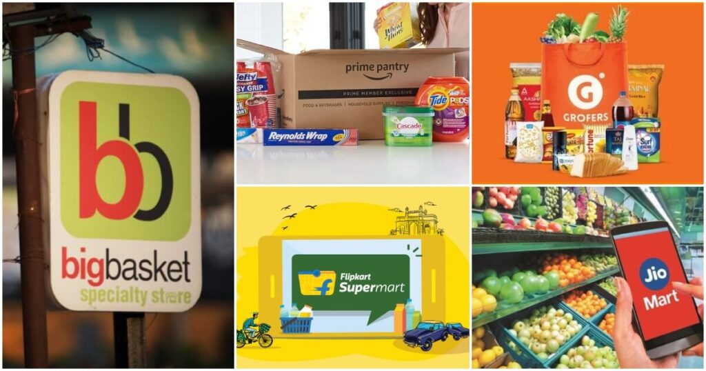 Large Companies working in Indian Retail