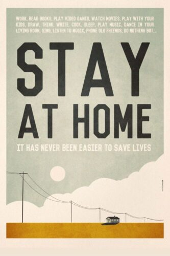 Stay at Home! Stay Safe! It has never been easier…