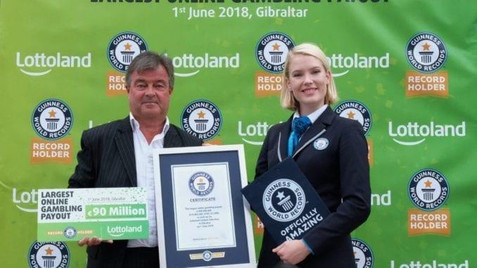 Record vincita Lottoland