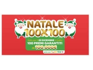 Superenalotto Natale 100x100