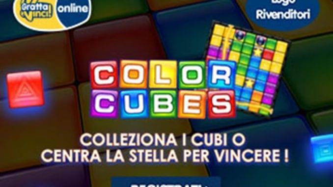 Lanciato il Gratta e Vinci Color Cubes