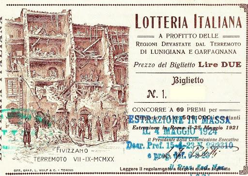lotteria per la ricostruzione dopo il covid